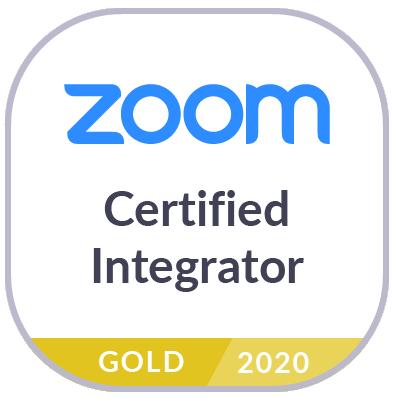 Zoom Certified Integrator Logo